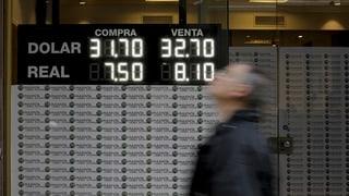 Argentiniens Wirtschaftskrise verschärft sich