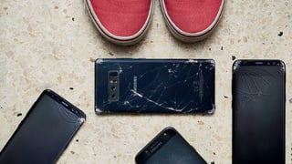 Smartphones im Test: Der Scherbenhaufen von Samsung