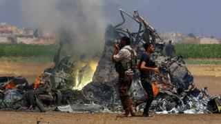 Russischer Militärhelikopter im Norden Syriens abgeschossen