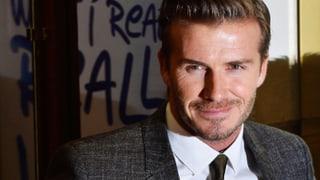 Massenpanik wegen David Beckham
