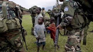 Verhältnis zu den Friedenstruppen ist gespalten