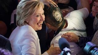 «Clinton wird das Rennen machen»