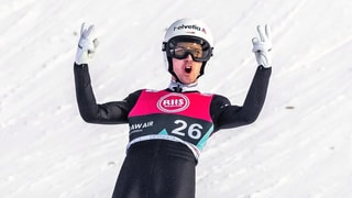 243 Meter! Ammann springt Schweizer Rekord