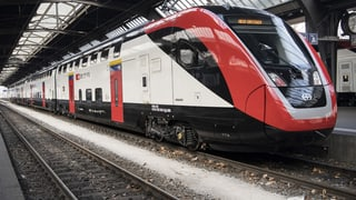 SBB darf Doppelstockzüge uneingeschränkt testen