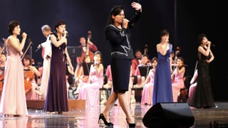 Südkoreanische Lieder in Nordkorea aufgeführt