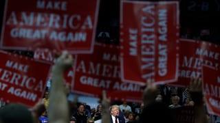 Es bleibt «great»: Trumps Slogan für den nächsten Wahlkampf steht