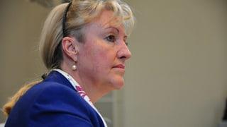 Barbara Janom-Steiner promova dunnas en la politica