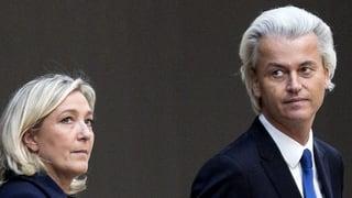 Le Pen und Wilders: Das rechte Traumpaar spannt nicht zusammen