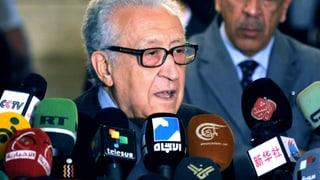 Brahimi dringt auf Regierungswechsel in Syrien