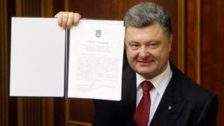 Ukraine und EU ratifizieren Assoziierungsabkommen