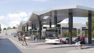 Wohlen erhält einen neuen Bahnhofplatz... und noch mehr