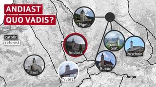 Plaiv d'Andiast spetga sin fusiun politica, e spargna entant