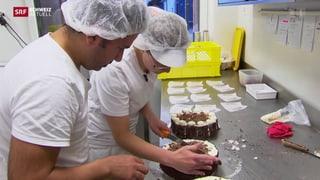 St. Galler Bäcker bilden Flüchtlinge aus