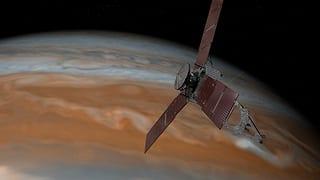 Nasa-Sonde Juno erreicht Umlaufbahn von Jupiter