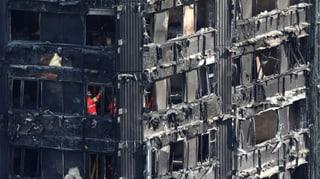 Dutzende gefährliche Hochhäuser in Grossbritannien entdeckt