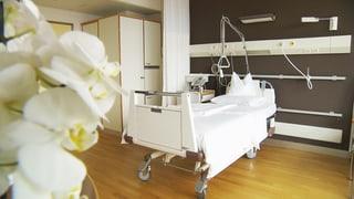 Kranke Preise im Spital: Einzelzimmer teurer als im Luxushotel