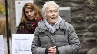 Anni Lanz – die älteste Schlepperin der Schweiz