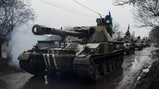 Konfliktparteien in der Ostukraine einigen sich auf Waffenabzug
