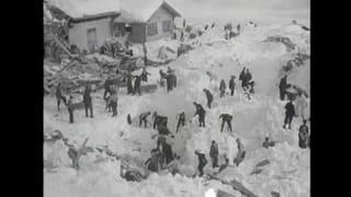 La lavina da Val Sogn Pieder 1951