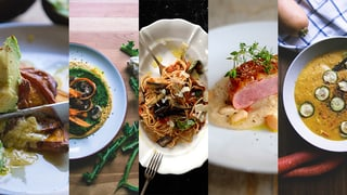 Gute Rezeptideen: fünf Klicks gegen die kulinarische Routine