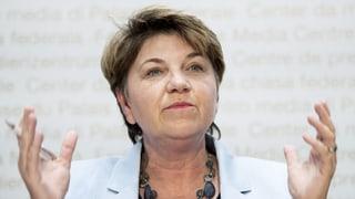 Viola Amherd startet mit ehrgeizigen Plänen ins Amt