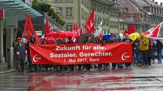 In Bern ist der 1. Mai ein Arbeitstag – mit wenigen Ausnahmen