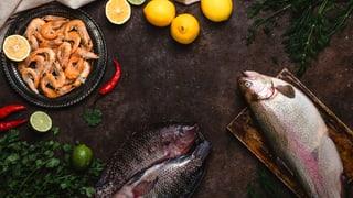 Fisch und Meeresfrüchte sicher geniessen