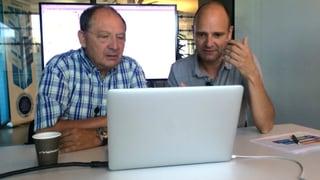 Beni Thurnheer will programmieren lernen. Schafft er das?