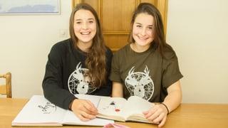 Duas soras – in label