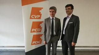 PCD nominescha Marcus Caduff e Mario Cavigelli