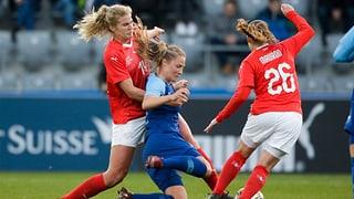 Schweizer Frauen spielen gegen Finnland unentschieden