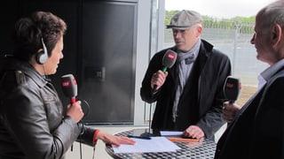 Redakteure hinter Gittern: Das Regionaljournal live aus Deitingen