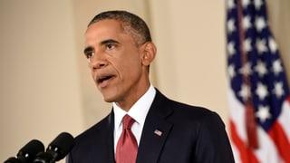 USA bombardieren erstmals IS-Stellungen nahe Bagdad