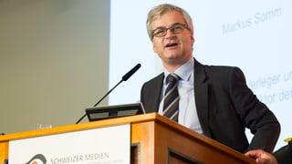 Markus Somm will nicht NZZ-Chefredaktor werden