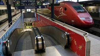 Bahnstreik in Belgien wirkt sich auf Fernzüge aus
