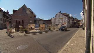 Wiederaufbau der Altstadthäuser harzt – wegen der Kosten