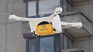 Posta lantscha project cun dronas