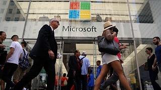 Microsoft überholt Apple und Alphabet