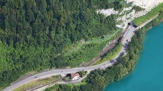 Temporäre Überführung bereitet Tunnelbau vor