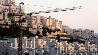 USA kritisieren Israels Siedlungspläne