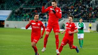Effizientes Thun fügt St. Gallen ärgerliche Niederlage zu (Artikel enthält Video)