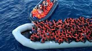 Weniger Flüchtlinge landen in Italien