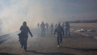Mexiko fordert Untersuchung des Tränengas-Einsatzes