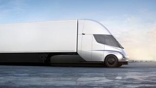 Der LKW soll eine Reichweite von rund 800 Kilometern haben: Das neuste Projekt von Elon Musk.