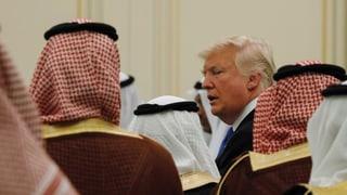 Trump verhängt sanfte Sanktionen gegen Saudi-Arabien