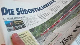 Südostschweiz baut Stellen ab