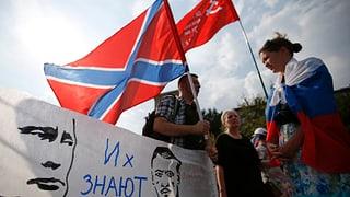 «Putin, rette den Donbass»