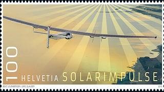 Atgna marca postala per «Solar Impulse 2»