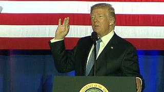 «Eine revolutionäre Änderung»: Ende September stellte US-Präsident Trump seine Steuerreform vor.