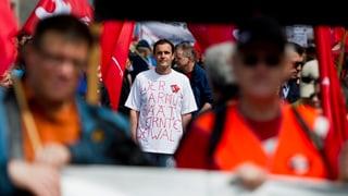 Friedlich, bunt und jung: Der 1. Mai-Umzug in Zürich